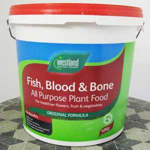 Fish  Blood And Bone All Purpose Plant Feed (Westland) 10Kg