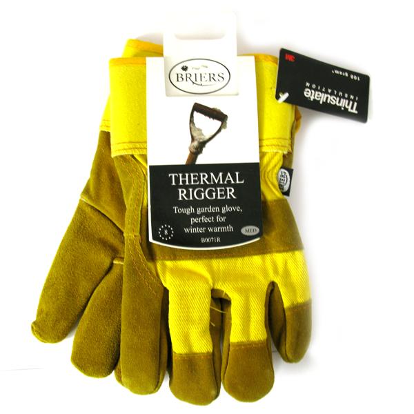 Briers Thermal Rigger Tough Gardening Gloves Medium B0071R