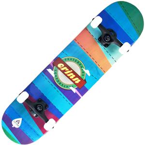 Backfire Erinn Patchwork Skateboard