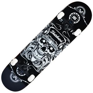 Backfire Skull Skateboard