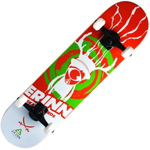 Backfire Erinn Trance (Red) Skateboard