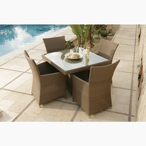 Poly Rattan Dining Set DL-D34-35