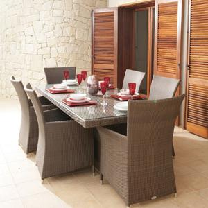 Poly Rattan Dining Set DL-D36-37