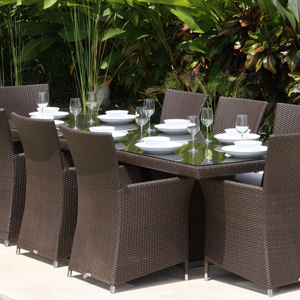 Poly Rattan Dining Set DL-D38-39
