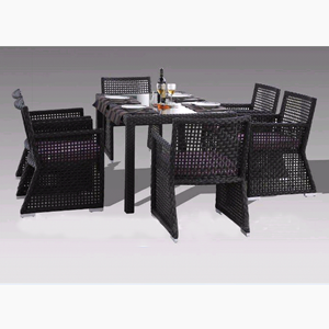 Poly Rattan Dining Set DL-D142-143
