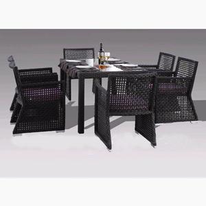 Poly Rattan Dining Set DL-D142-143