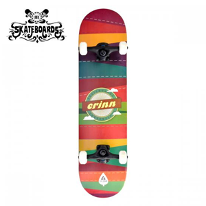 Backfire Erinn Patchwork (Red) Skateboard