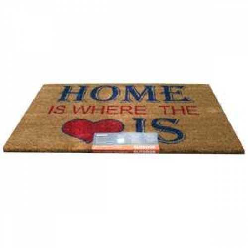Home Is Where The Heart Is Gardman Door Mat GFC677 / 82676