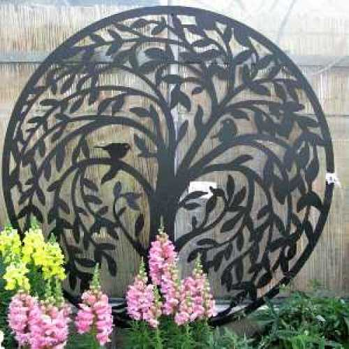 Metal Wall Art by The Old Basket Supply Company (tobs) - 24618