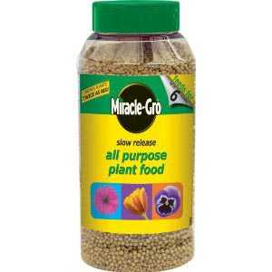 Miracle-Gro Slow Release All Purpose Plant Food