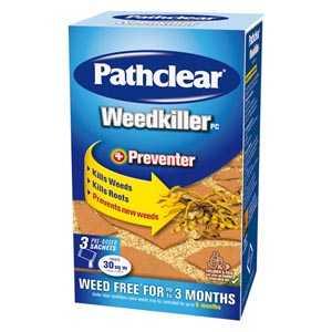 Pathclear Weedkiller 3 Sachet Carton
