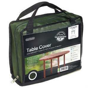 Gardman Black Round Table Cover 35666