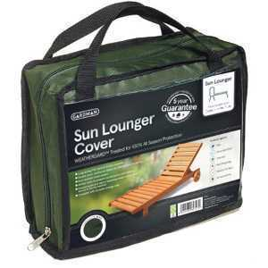 Gardman Black Sun Lounger Cover 35696