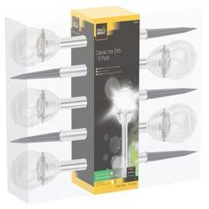 Cole & Bright Solar Classic Ice Orb 5 Pack L21010