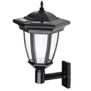 Cole & Bright Solar Coach Latern Wall Light L22103